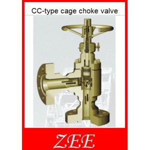 China CC-type cage choke valve. choke manifold parts.orifice diameter 1'' on sale