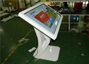 China 55 Touch Screen Monitor Totem Display , Digital Signage Kiosk SD Card Or USB Port on sale