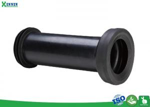 China Straight Toilet Pan Connector For 110mm Toilet Drainage Waste Pipe on sale
