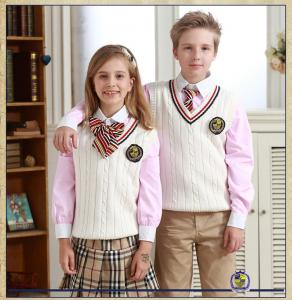 Quality customized top quality Sweaters Suits School Students Uniforms For  Kids Autumn for sale ... e4c71189b