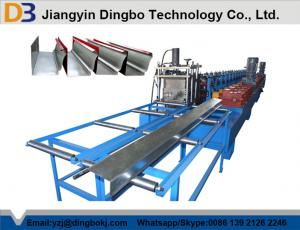 China Professional Full Automatic Aluminium Rainwater Gutter Roll Forming Machine on sale