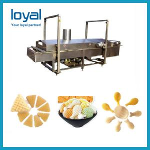 China Industrial sala crispy chips bugles snacks food process machinery on sale
