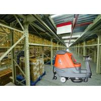China Big Shape Battery Powered Floor Scrubber Dryer Machine To Clean Larger Warehouse Or Shopping Mall on sale