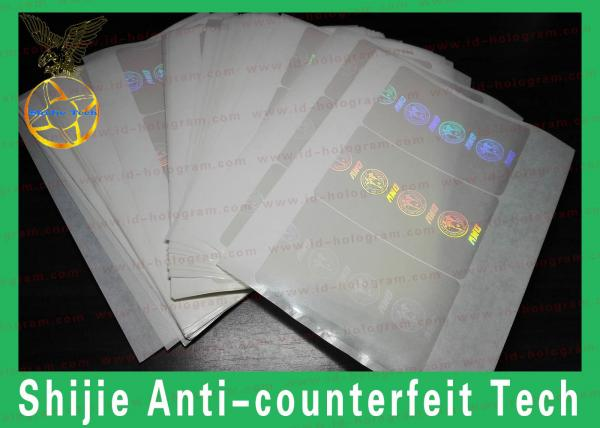 USA Anti-Counterfeiting obtain a good quality transparent
