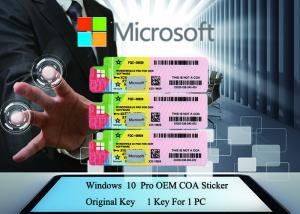 Quality Genuine Windows 10 Product Key Working Serial Key Online Activate Customizable for sale