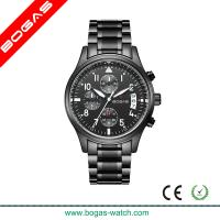 China Stainless Steel Case Chronograph Watches for Men on sale