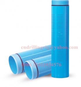 China PVC Casing and screen water well drilling pipe 4'' - 24'' with thread connection on sale
