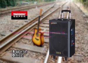 China Ordinateur portable se reliant actionné de guitare de chariot de boîte portative de haut-parleurs on sale