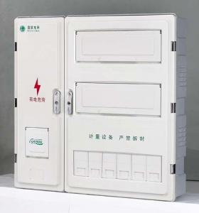 China Virgin SMC Outdoor Electric Meter Box Flame Retardant , Digital Indoor Meter Box Cover on sale