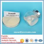 CAS 330784-47-9 Sex Steroid Hormones Powder Avanafil for Men Sex Enhancement