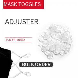 China Transparent Stopper & Toggles For Face Mask on sale