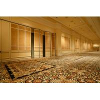 Hotel Soundproofing Aluminum Folding Sliding Operable Temporary Partition Walls