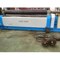 Carbon Steel Plate Rolling Machines With 3200mm Steel Sheet Width