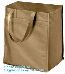 China New Design Custom Sublimation Printing Rpet Non Woven Bags, Outdoor portable non-woven insulated shopping non woven bag on sale