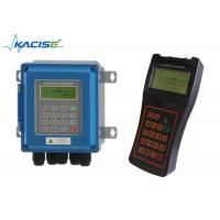 China High Accuracy Portable Digital Water Flow Meter RS485 Modbus Liquid Flowmeter on sale