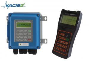 China High Accuracy Portable Digital Water Flow Meter RS485 Modbus Liquid Flowmeter on sale