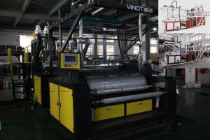 China Vinot Cast Stretch Film Machine/Cling/Stretch Film Making Machine With Width 1000mm & LLDPE Material Model No.SLW-1000 on sale