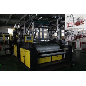 A máquina do filme de estiramento do molde de Vinot/adere-se/a máquina cinematografia do estiramento com largura 1000mm & modelo material No.SLW-1000 de LLDPE