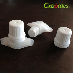 X-08 Food Grade Twist Spout Cap 9 6mm White Color Printing