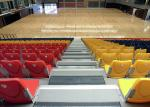 Economic Telescopic Tribunes / Retractable Theater Seating With Nose Mounting Polymer