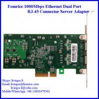 Femrice 1000Mbps RJ-45 Connector Gigabit Ethernet Server Network Card 10002PT