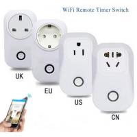 ETL CE RoHS Smartphone Controlled Electrical Outlet 50Hz 60Hz AC100 - 240V