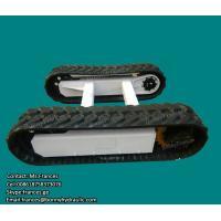 Hydraulic rubber crawler track undercarriage