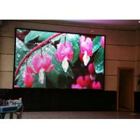 Commercial Dynamic RGB Indoor LED Screens , Led Tv Advertising Displays