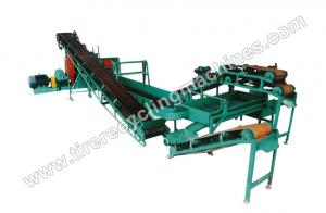 China Small Scale Tire Recycling Line wholesale
