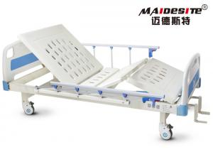China 250KG Load Capacity Manual Hospital Bed For Clinic Easy Maintenance on sale