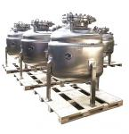 Stainless Steel Pressure 2.4Mpa Reaction Kettle With Large Capacity