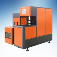 China Orange Semi - Automatic PET Blow Moulding Machine For 5L Cooking Oil Bottle on sale