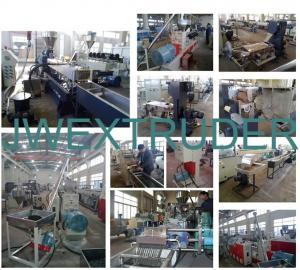China PE/PP/ABS/PVC reciclan la línea plástica de la granulación (el corte frío) on sale