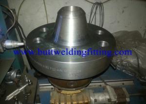China 注文の銀ASTM/ASMEは鋼鉄フランジを長く溶接します首のフランジのタイプを造りました on sale