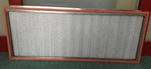 China Quiet High Temperature Air Filter , Whole House Hepa Filter Glass Fiber on sale