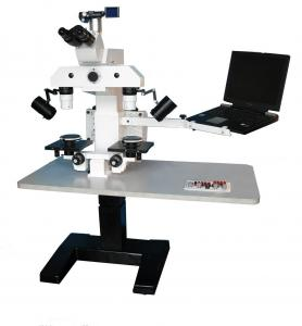 China 9× - 118× Digital Forensic Comparison Microscope With 3 Mega Pixel Camera on sale