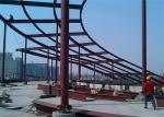 Anti Corrosion Cracking Architectural Structural Steel For Workshop / Warehouse