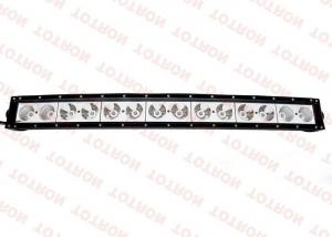 China 4X4 Led Light Bar Single Row  For Off Road , 30 Curved Led Light Bar on sale