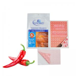 China Thermal Patch Plaster for arthritis back should knee pain relief Hot Capsicum Plaster on sale