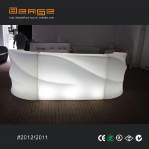 China 16 color changeable LED furniture plastic bar furniture on sale