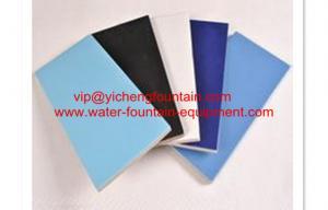 China 7.2 インチ x3.45 のインチは 335 のシリーズ プールの付属品艶をかけられた陶磁器をタイルを張ります on sale