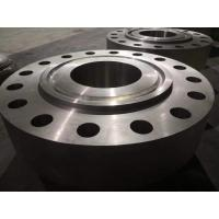 "Threaded Nickel Alloy Flanges 900# 1500# 2500# 1 / 2"" - 24"" For Oil / Gas Industry"