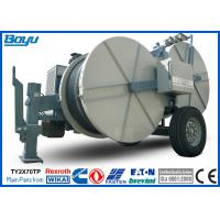 2 x 70kN Double Bundle Overhead Line Stringing Equipment Cummins Engine Hydraulic Puller Tensioner