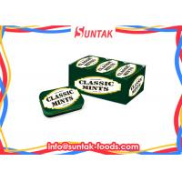 Classic Fresh Breath Mints Dextrose Candy , Hot Chewable Ginger Tablets