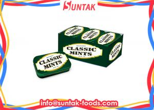 China Classic Fresh Breath Mints Dextrose Candy , Hot Chewable Ginger Tablets on sale