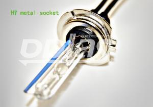 China 35W H7 6000K Bi-xenon HID Bulbs , Metal Base HID Headlight on sale