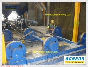 China Centrifugal Spinning pipe Machine for Concrete Pipes LWC200-1500 on sale