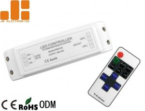 China IP40 Max 20A Remote Touch Dimmer , Single Channel Output RF LED controller on sale