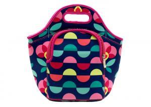 China Custom Neoprene Cooler Bag ,Insulated Neoprene Lunch Bag With Shoulder Strap on sale