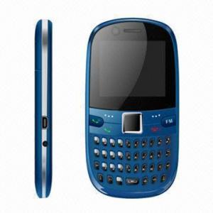 China Quad Band/2-SIMs/1 Camera/FM Radio/Bluetooth/TV/1.8-inch Qwerty Dual-SIM Phones on sale